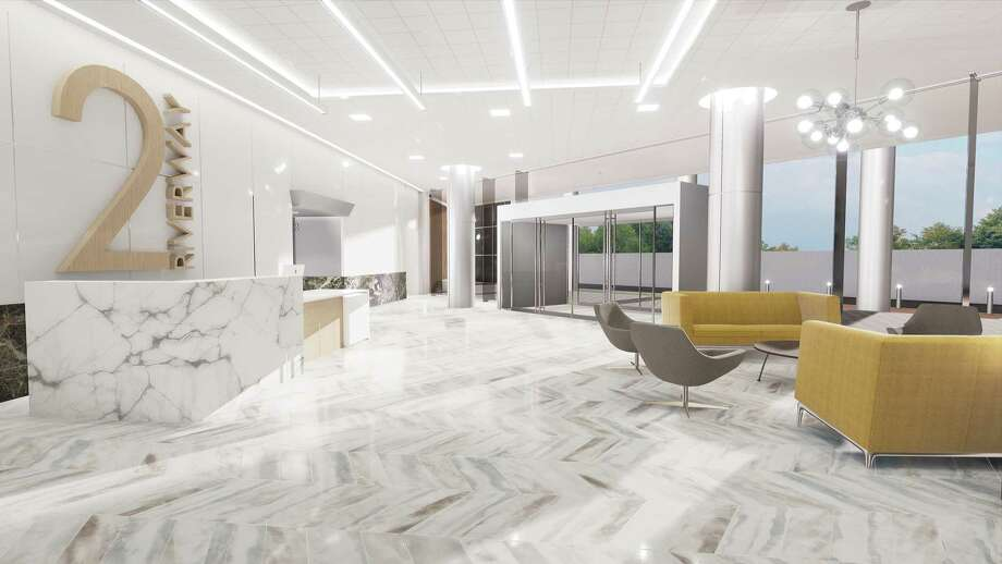 Sidra Real Estate is renovating the Two Riverway building at 2 Riverway Drive north of the Galleria. Ziegler Cooper Architects designed the renovations. Photo: Stream Realty Partners