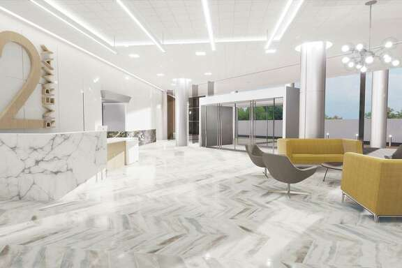 Sidra Real Estate is renovating the Two Riverway building at 2 Riverway Drive north of the Galleria. Ziegler Cooper Architects designed the renovations.