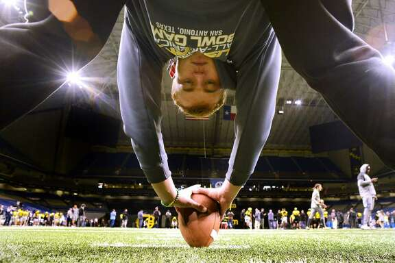 Karsten Battles, a long snapper from Johnson High School, is on the West roster for the U.S. Army All-American Bowl.