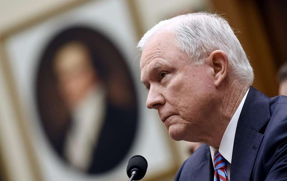 The office of U.S. Attorney General Jeff Sessions is reportedly changing an Obama-era marijuana policy. Click through the gallery for reactions from California representatives. Photo: Olivier Douliery, TNS