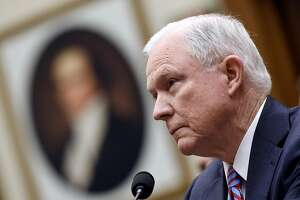 U.S. Attorney General Jeff Sessions testifies during a hearing before the House Judiciary Committee Nov. 14, 2017 in Washington, D.C.  (Olivier Douliery/Abaca Press/TNS)
