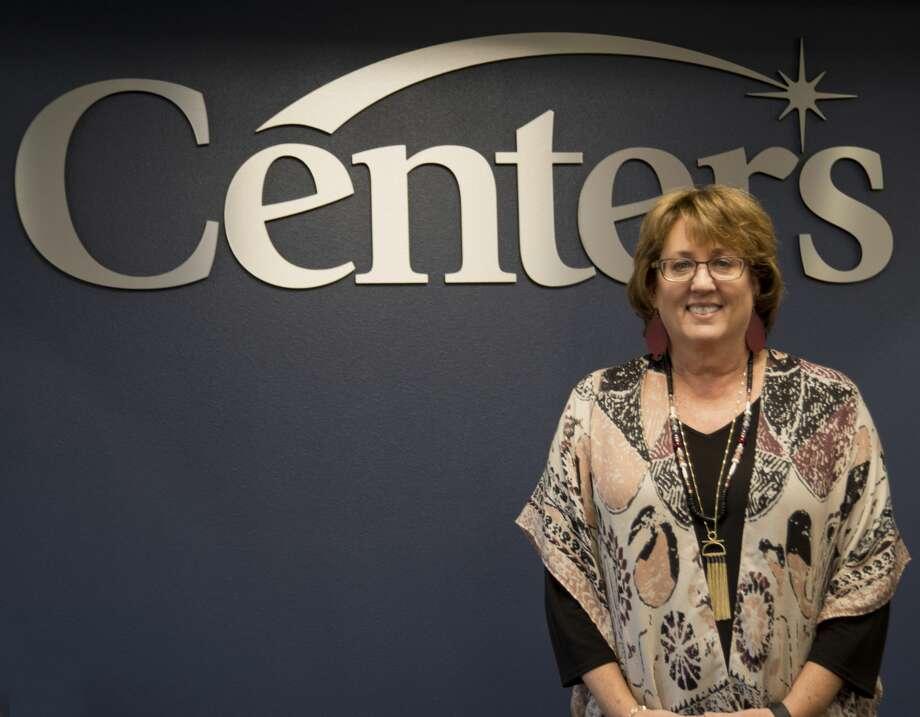 Kristi Edwards with Centers. Photo: Tim Fischer/Midland Reporter-Telegram