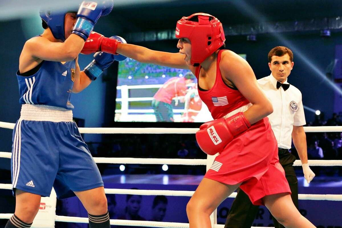 Isamary Aquino has her sights set on the 2020 Tokyo Olympics, where if successful in making the U.S. team she would become San Antonio's first Olympic boxer, male or female.