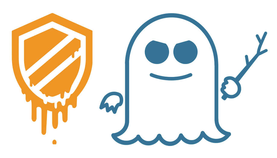 The Meltdown and Spectre flaws have been given their own logos. Photo: Natascha Eibl