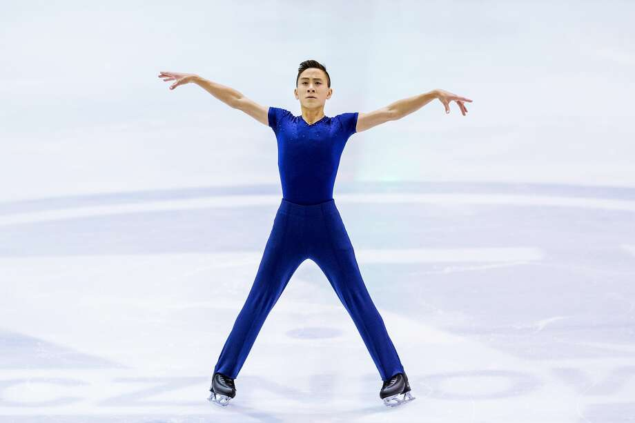 In this file photo, Dinh Tran of the United States competes in the Men's Short Program during day one of the ISU Junior Grand Prix of Figure Skating at Olivia Ice Rink on October 5, 2017 in Gdansk, Poland. Photo: Joosep Martinson - ISU/ISU Via Getty Images
