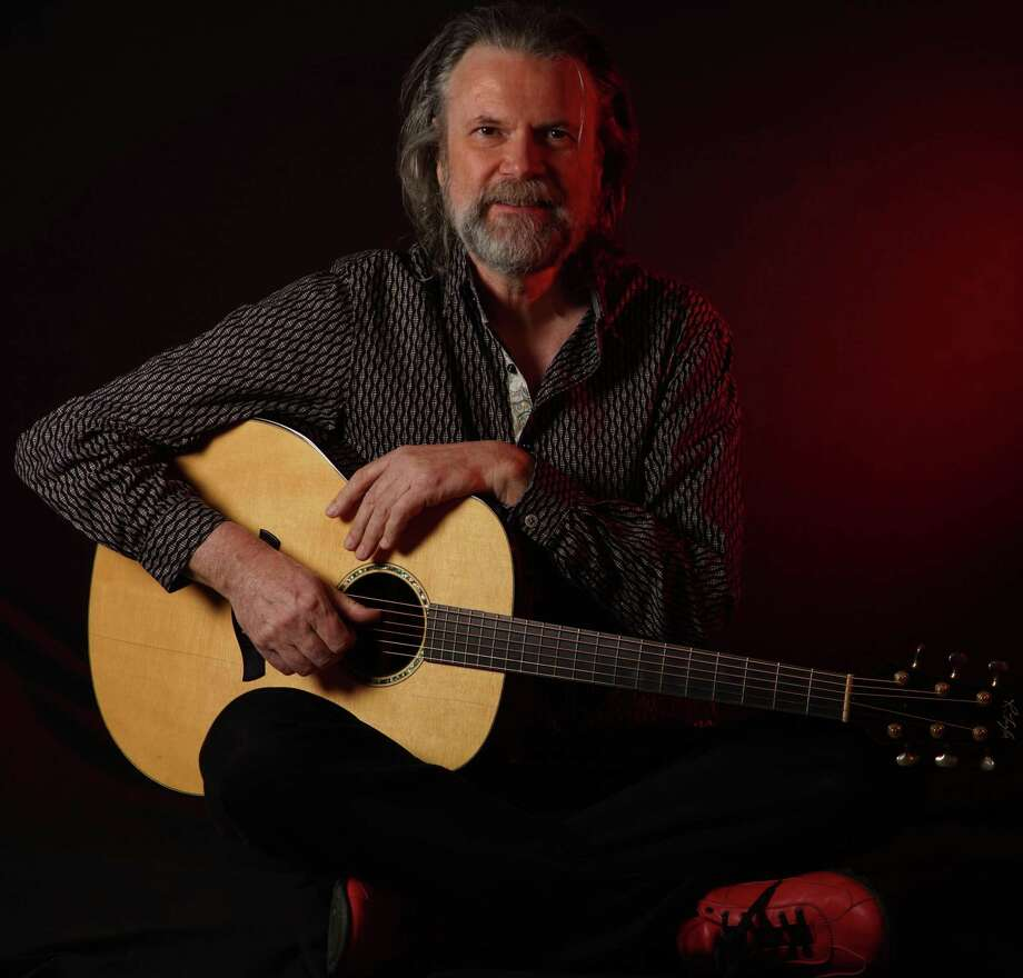 Beppe Gambetta, a master guitarist with a rich baritone voice who lives in Italy, will play a GuitartownCT Productions concert Friday at Best Video Film & Cultural Center in Hamden. Find out more.  Photo: Chris Wuerth / Contributed Photo
