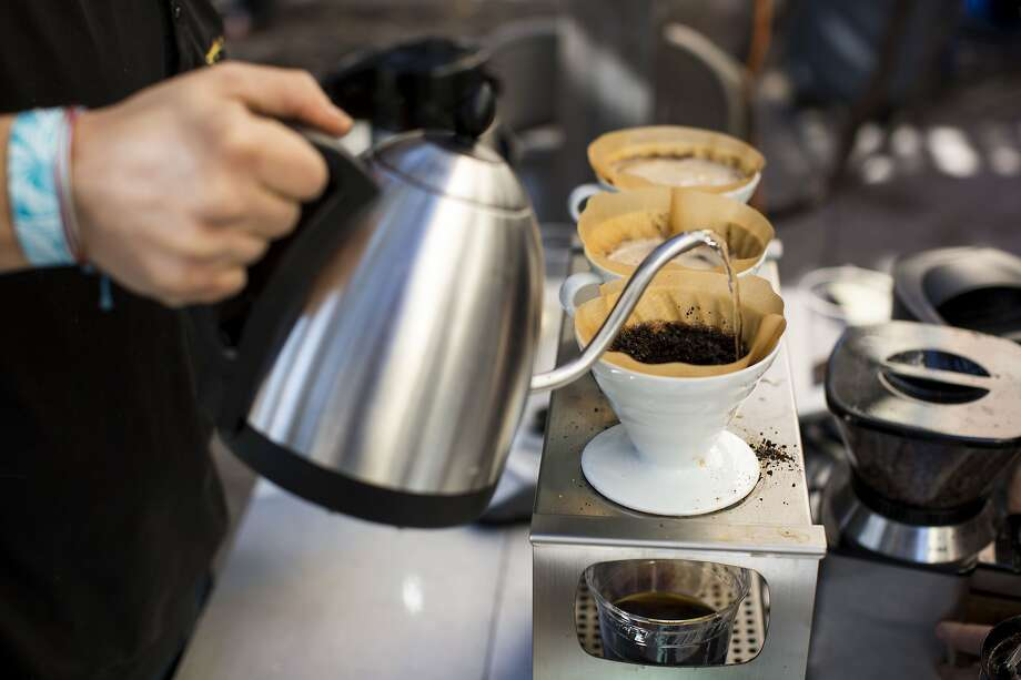GALLERY: The 10 cities with the highest number of coffee shops per resident 10. Ann Arbor, MI  - 1 coffee shop per every 2,825 people - 43 coffee shops/cafes in total Photo: Carolyn Van Houten