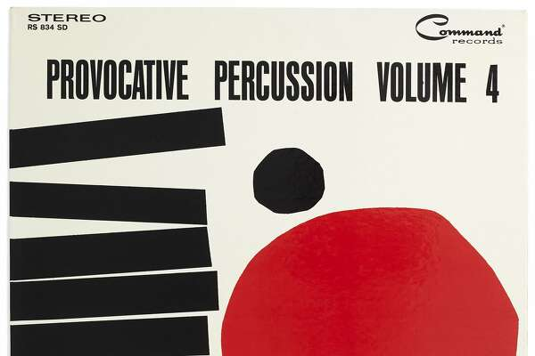 "Josef Albers' jacket for ""Provocative Percussion Volume 4 by Enoch Light and The Light Brigade"" (1962) is part of the exhibition ""Art & Vinyl"" at�Fraenkel Gallery"