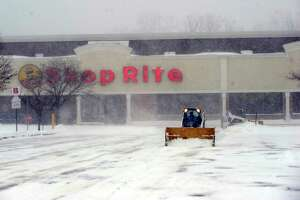 Shoprite in Brookfield is closed Thursday, January 4, 2018, due to the snowstorm.