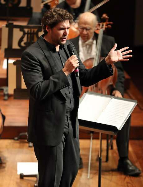 S.F. Symphony Youth Orchestra Music Director Christian Reif. Photo: Scott Strazzante, The Chronicle
