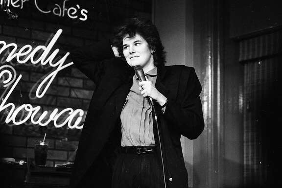 Jan. 14, 1984: Paula Poundstone performs at The Other Cafe.