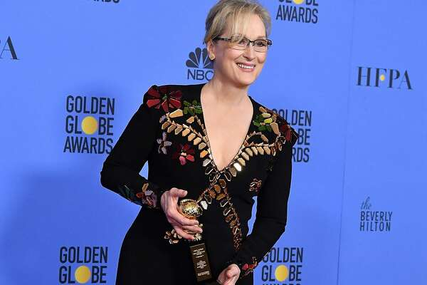 BEVERLY HILLS, CA - JANUARY 08:  Meryl Streep poses at the 74th Annual Golden Globe Awards at The Beverly Hilton Hotel on January 8, 2017 in Beverly Hills, California.  (Photo by Steve Granitz/WireImage)