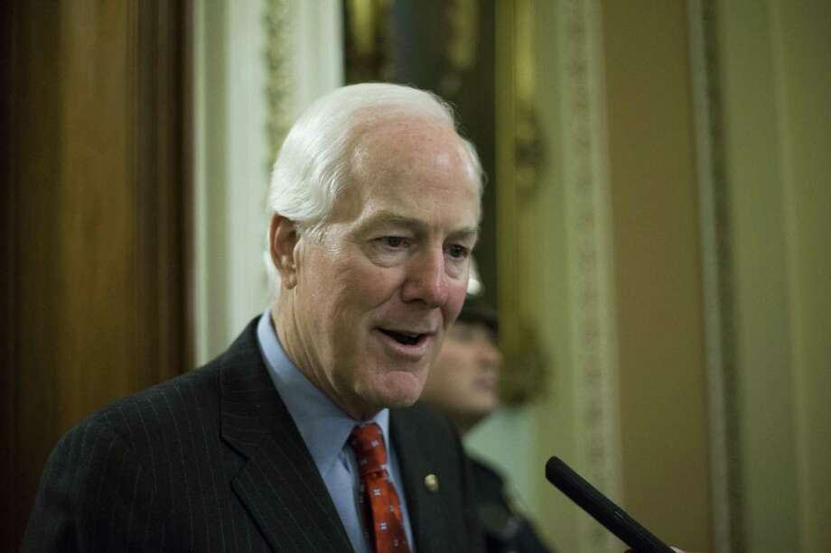 "U.S. Sen. John Cornyn, R-Texas, says CHIP funding is a ""must-pass piece of legislation."" Photo: Alex Edelman /CNP /Sipa /TNS / Sipa USA"