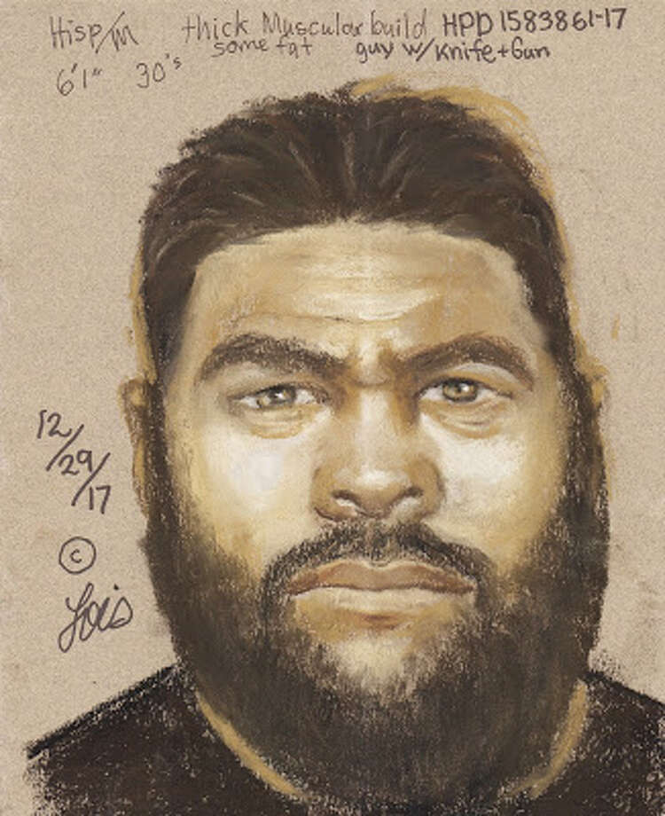 A sketch of one of the men who was involved in a robbery on Dec. 18 outside Whataburger.>> Keep clicking to see some of the weirdest and sketchiest police sketches ever... Photo: Houston Police Department