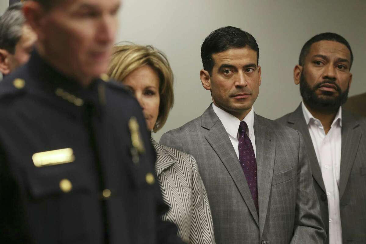 District Attorney Nico LaHood has hired a new political consultant for his re-election campaign.