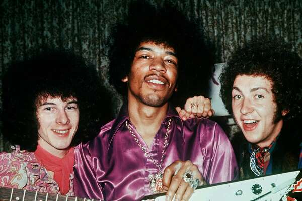 Music Personalities, pic: circa 1968, The Jimi Hendrix Experience, l-r, Noel Redding, Jimi Hendrix and Mitch Mitchell  (Photo by Rolls Press/Popperfoto/Getty Images)