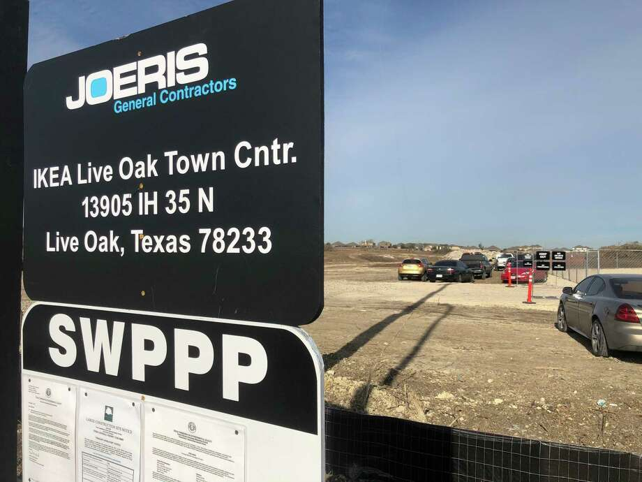 Photos show construction slated to start on san antonio for Ikea san antonio