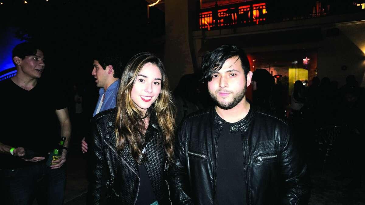 Alejandra Navarro and Manuel Gamez at Siete Banderas Friday, January 5, 2018