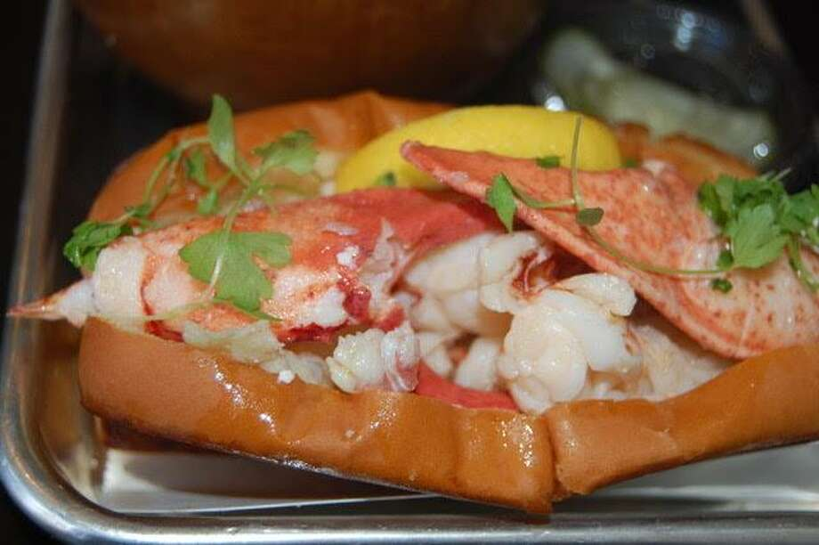 The lobster roll at Knot Norm's in Norwalk. Photo: Jane Stern / For Hearst Connecticut Media
