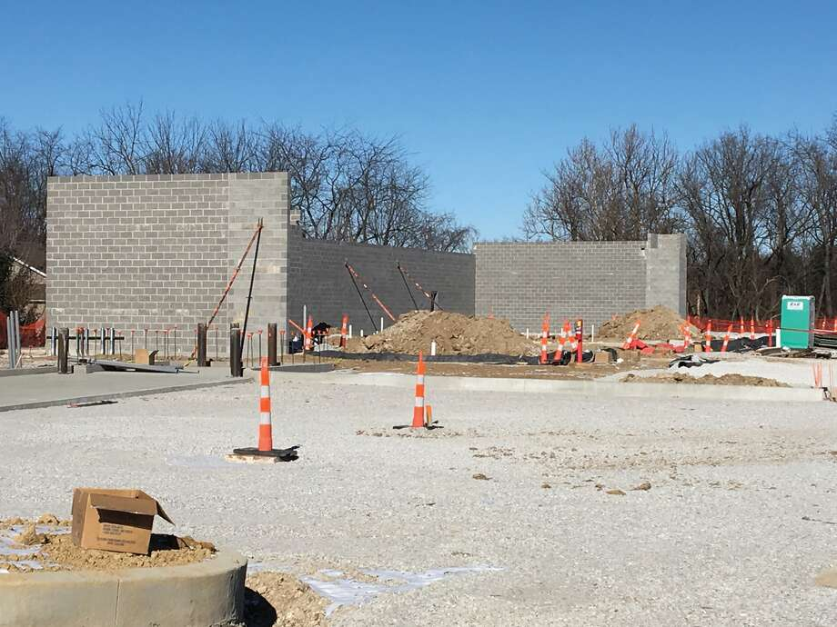 The strip mall construction project currently underway on Route 157 is indicative of the growth the Edwardsville/Glen Carbon area has seen in recent years. Photo: Bill Tucker • Btucker@edwpub.net
