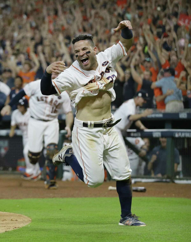 Jose Altuve keys the Astros' attack.