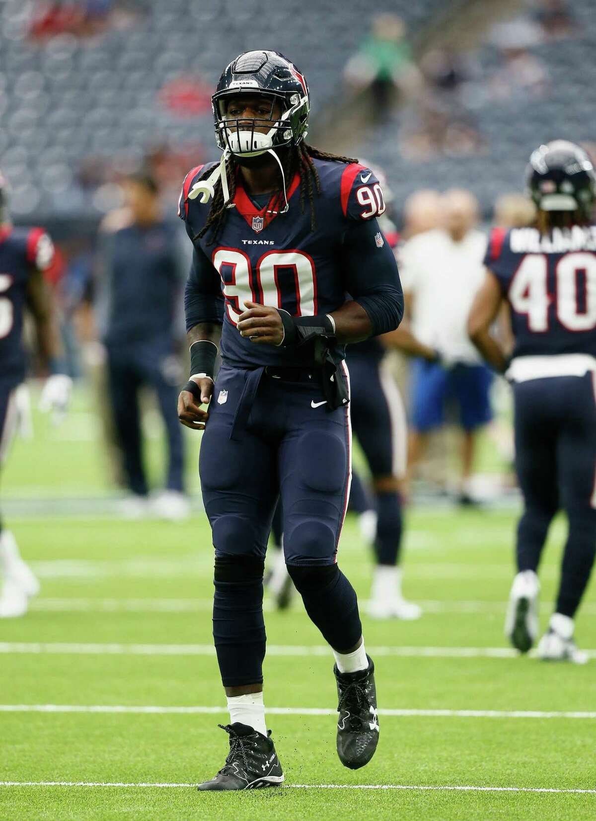 Jadeveon Clowney is one of the Texans' big-name players.