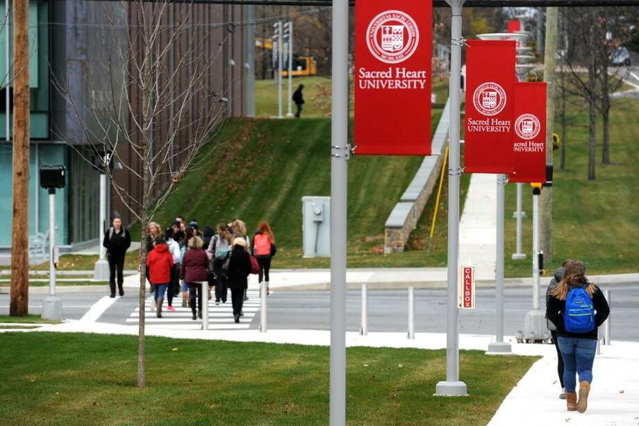 The Sacred Heart University campus in Fairfield, Conn. Nov. 21, 2016. Photo: Ned Gerard / Hearst Connecticut Media / Connecticut Post