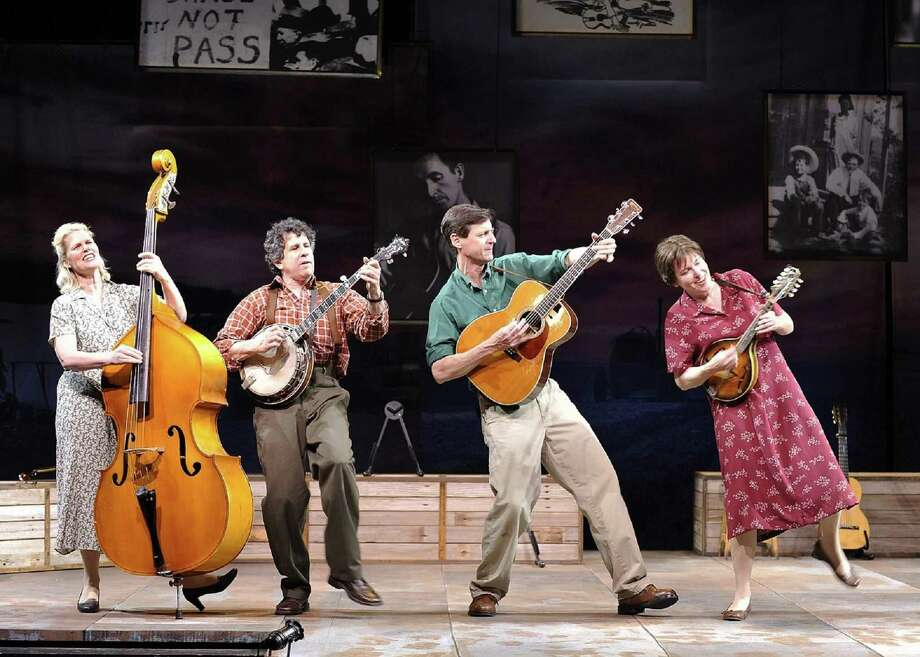 """Woody Sez"" at the Westport Country Playhouse from Jan. 9-20, celebrates the music and life of American folk icon Woody Guthrie. Photo: Wendy Mutz / Contributed Photo / MutzPhotography.com"