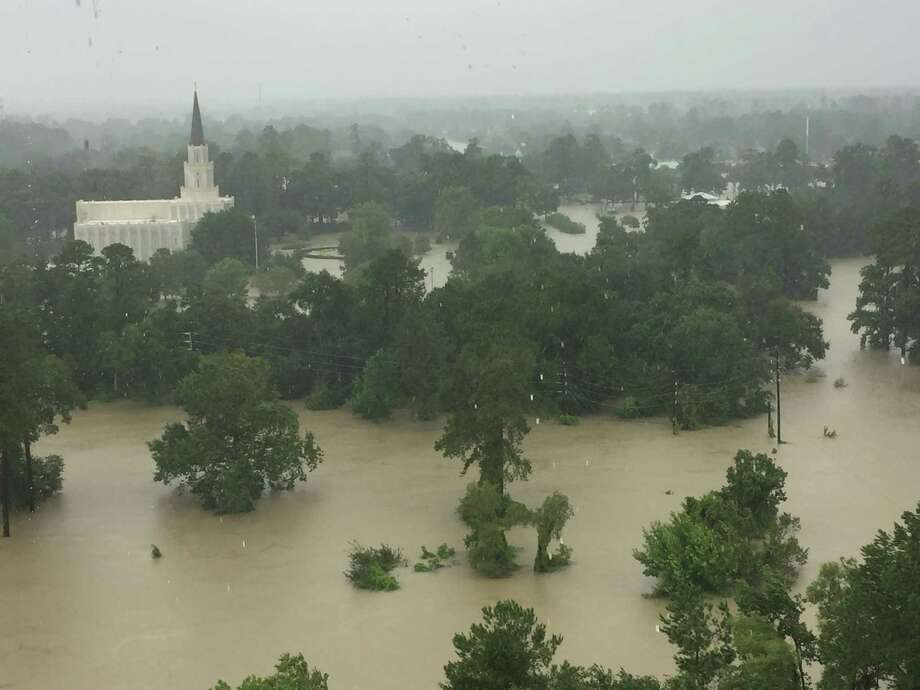 The temple of the Church of Jesus Christ of Latter-day Saints in Spring      remains closed after being flooded by nearly a foot of water during      Hurricane Harvey in August. Photo: Church Of Jesus Christ Of Latter-day Saints