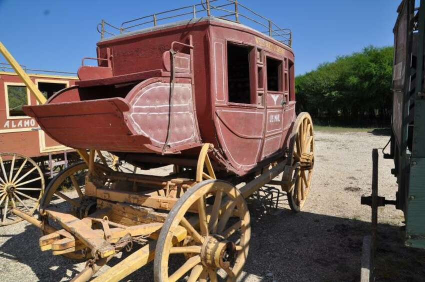 Wagons, cannons and other Alamo Village artifacts are up for sale with prices ranging between $1,000 and $18,000. The sale will be held Jan. 27-28, 2018.