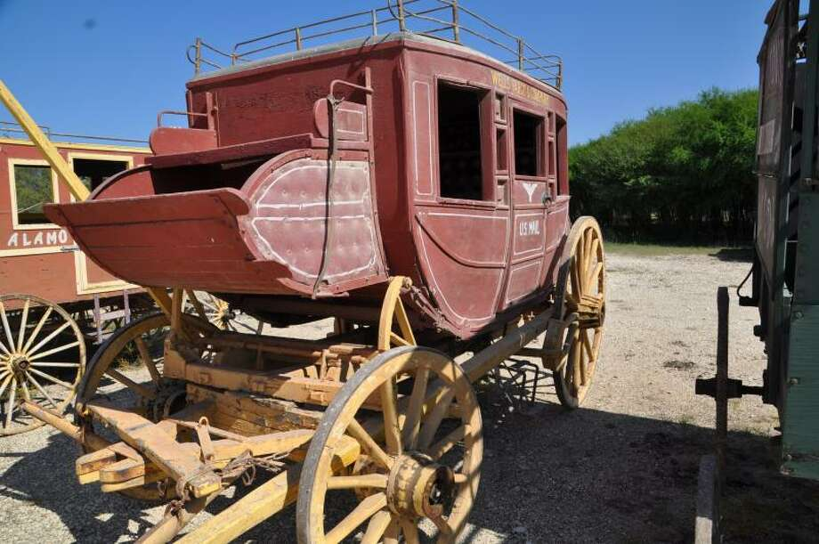 Wagons, cannons and other Alamo Village artifacts are up for sale with prices ranging between $1,000 and $18,000. The sale will be held Jan. 27-28, 2018. Photo: Courtesy/The Nest Estate Sale Services