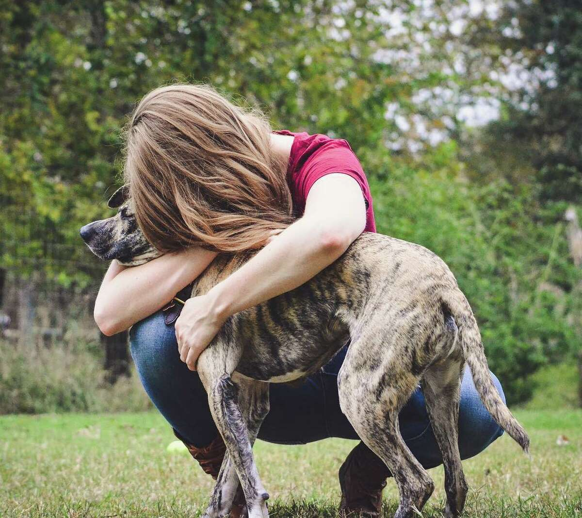 Veterinary doctor Danielle Boyd fell in love with Squish at first sight in Ohio in June 2016, and helped save him from possible euthanasia. Though as the doggy saying, who rescued who?