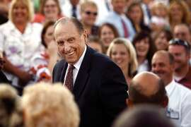 In this Aug. 23, 2008 photo, President Thomas S. Monson attends the Cultural Celebration performed by the youth of the Twin falls Temple district in Twin Falls, Idaho. Monson, the 16th president of the Mormon church, died Tuesday, Jan. 2, 2018, after overseeing the religion for nearly a decade. He was 90. (Scott G. Winterton/The Deseret News via AP)