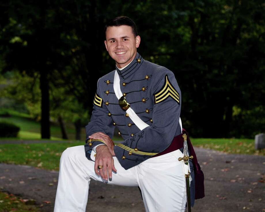 Cadet Andrew Chappo, a 2011 Staples High School graduate, recently graduated from the United States Military Academy Preparatory School. Photo: Contributed Photo