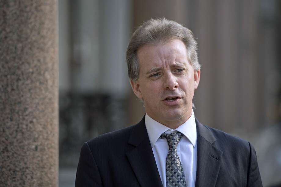 FILE -- Christopher Steele, the former MI6 agent who set-up Orbis Business Intelligence and compiled a dossier on Donald Trump, in London where he has spoken to the media for the first time. Photo: Victoria Jones - PA Images/PA Images Via Getty Images