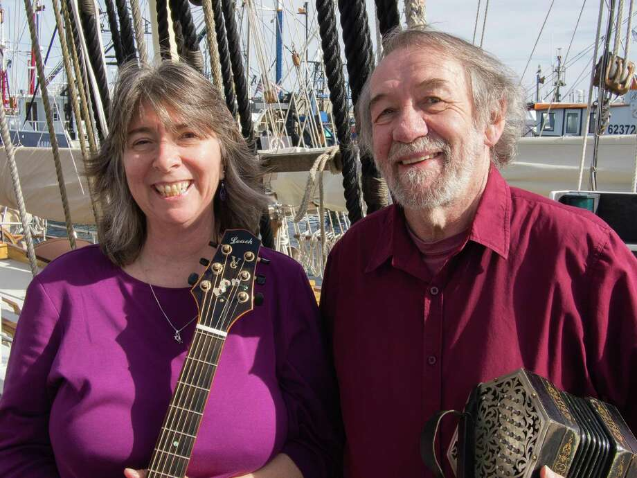 Respected balladeers Debra Cowan and John Roberts open the Branford Folk Music Society's 2018 concert series on Saturday at 8 p.m. in the auditorium of the First Congregational Church of Branford on the Green. Photo: Courtesy Of Branford Folk Music Society
