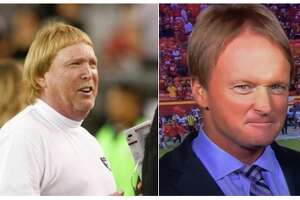 NFL media personalities react to Jon Gruden's record-breaking 10-year $100 million contract with the Raiders.