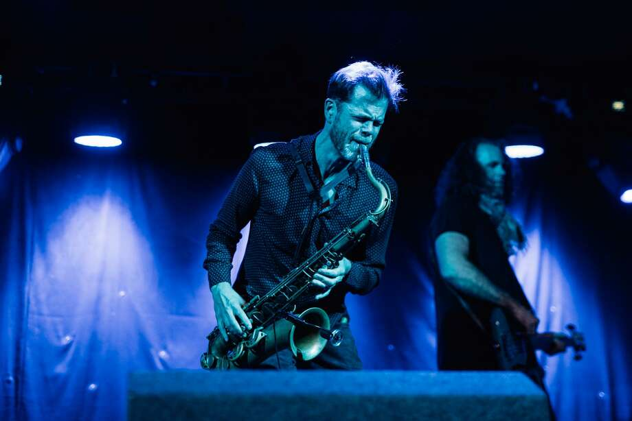 Saxophonist Donny McCaslin will play at Greenwich Library at 3:30 p.m. on Jan. 7. Photo: / Contributed
