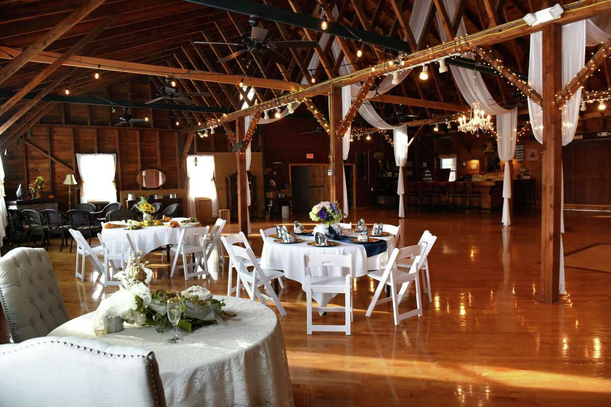 Banquet hall inside the Olde Tater Barn on Friday, Dec. 15, 2017, in Central Bridge, N.Y. (Will Waldron/Times Union)