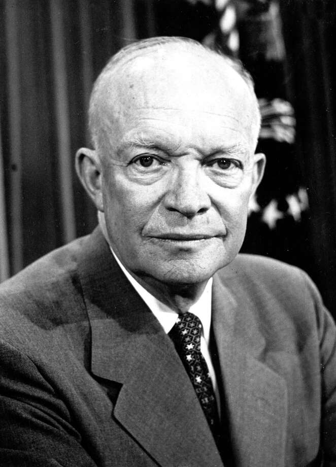 President Dwight D. Eisenhower Photo: Associated Press / OFFICIAL WHITE HOUSE PORTRAIT