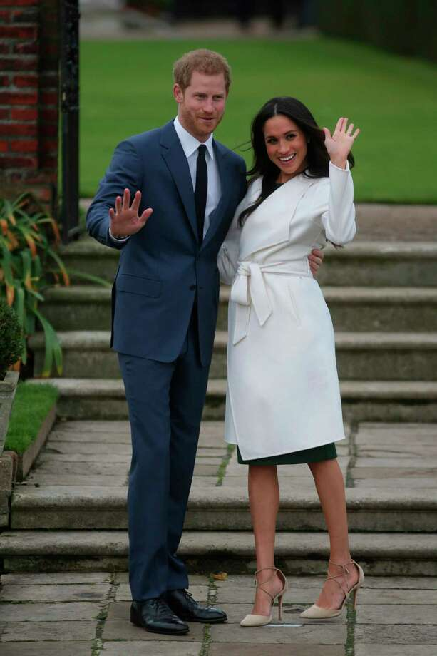 Prince Harry and Meghan Markle:Him: EnglishHer: African-American descentTogether since 2016 Photo: DANIEL LEAL-OLIVAS, Contributor / AFP or licensors