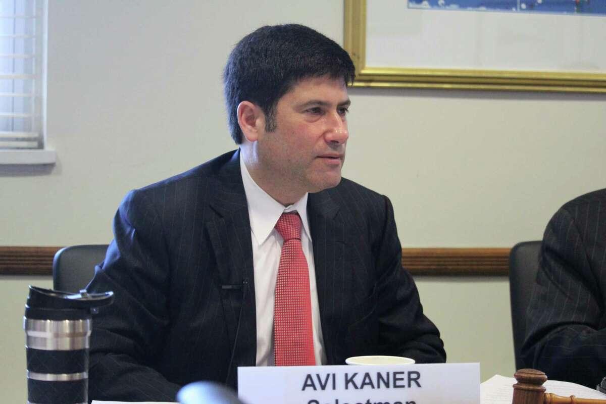Former Second Selectman Avi Kaner