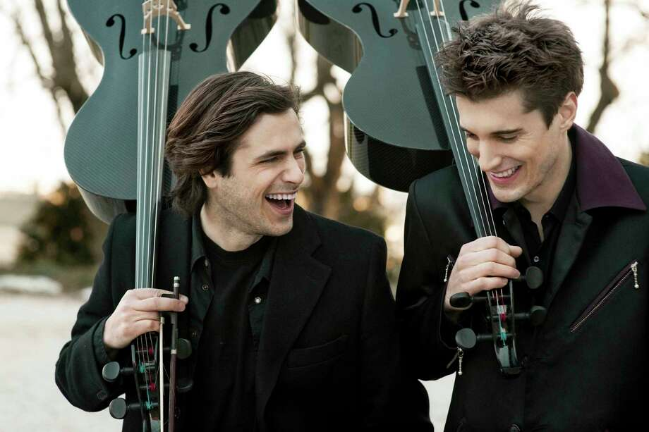 Cellists Stjepan Hauser (L) and Luka Sulic of 2CELLOS (courtesy photo)