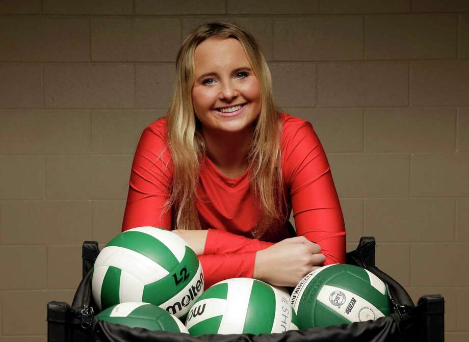 CHRONICLE'S ALL-GREATER HOUSTON VOLLEYBALL TEAM Player of the Year Sophie Walls The setter racked up 3,596 assists in her three-year varsity career, helping The Woodlands reach three consecutive regional finals and advance to the 6A state semifinals this season. The 5-11 Miami signee served up 1,446 assists last year and generated another 1,088 this year, despite losing games to Hurricane Harvey and a serious knee injury during district, making her an easy choice for the Chronicle's All-Greater Houston Volleyball Player of the Year. Photo: Michael Wyke, For The Chronicle / © 2017 Houston Chronicle