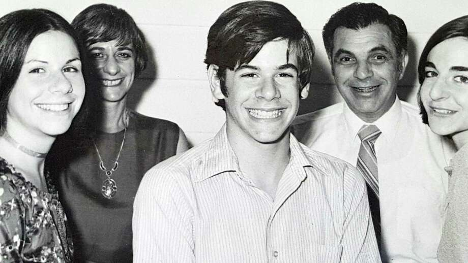 Lee Hyman, who was later appointed to the federal bench under her married name, Rosenthal, is pictured in a family portrait in the early 1970s, left to right with her sister Ann, mother Ferne, brother William, father Harold and the future district court judge, Lee. Photo: William Hyman / Photo courtesy of Ann Root