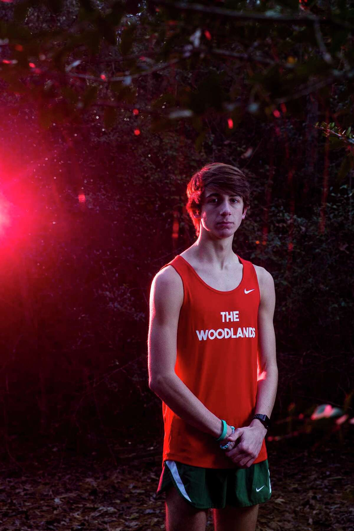CHRONICLE'S ALL-GREATER HOUSTON CROSS COUNTRY TEAM Boys Runner of the YearGavin HoffpauirThe Woodlands boys cross country team went into the season determined to honor fallen teammate Tanner Noble, who died in July after collapsing during a mountain biking trip. Mission accomplished. The Highlanders claimed their third consecutive state title and 20th overall, and senior Gavin Hoffpauir led the way, finishing second individually with a time of 15 minutes, 8.84 seconds, making him the Chronicle's All-Greater Houston Boys Cross Country Runner of the Year.