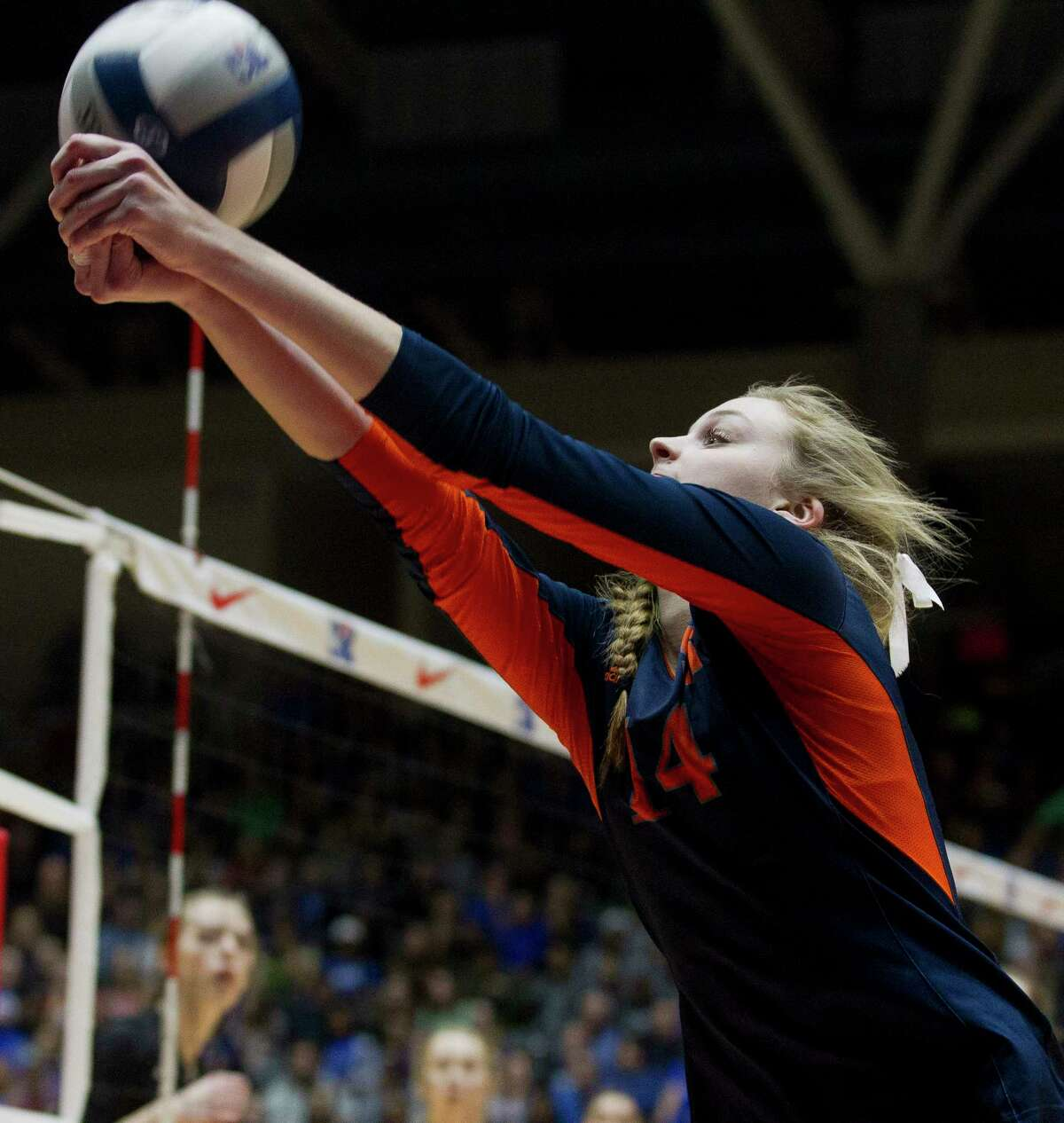 CHRONICLE'S ALL-GREATER HOUSTON VOLLEYBALL TEAM  Newcomer of the Year  Ally Batenhorst, Seven Lakes  Here is volleyball's next