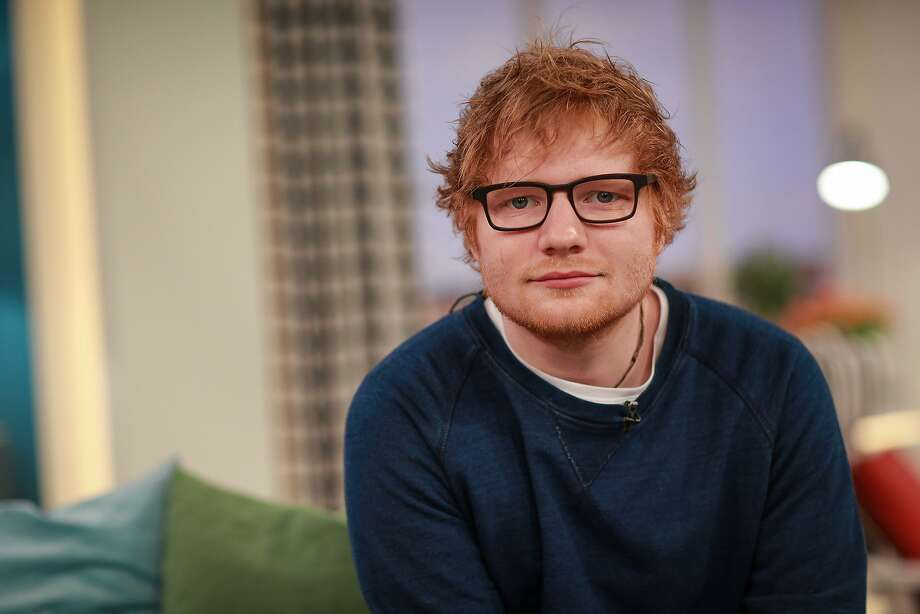 Ed Sheeran in Berlin on March 14, 2017. Sheeran topped the 2017 list of US album sales. (ddp images/Sipa USA/TNS) Photo: Ddp Images, TNS