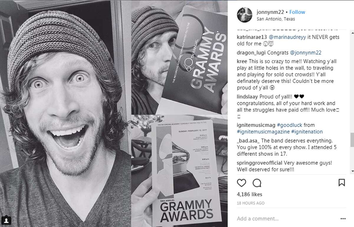 jonnynm22: When you get the official Grammy invitation in the mail