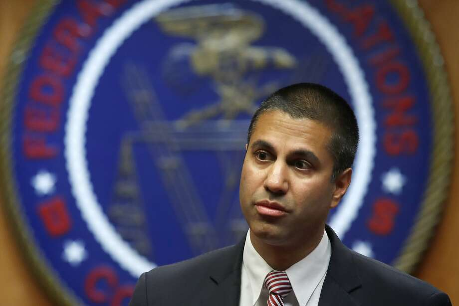 FCC Chairman Ajit Pai pushed for the rollback of net neutrality regulations. Photo: Jacquelyn Martin, Associated Press